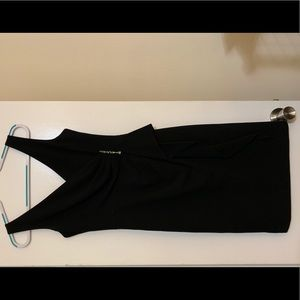Rickie Freeman Teri Jon Black Dress Size 4